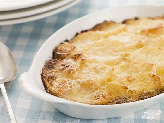 Запеканка из картофеля с сыром - фото шаг 9