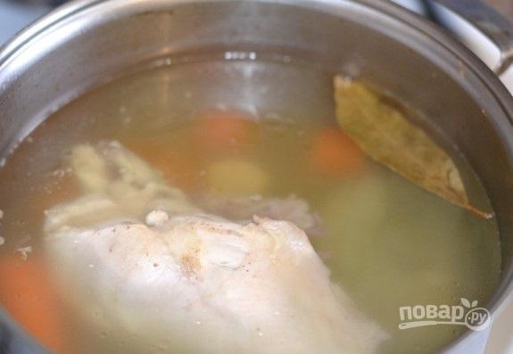 Прозрачный куриный бульон - фото шаг 6