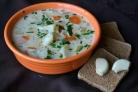 Картофельный суп с молоком