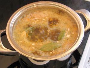 Суп с консервированной рыбой