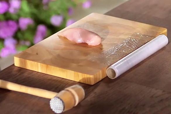 Рецепт Куриная грудка в сметане