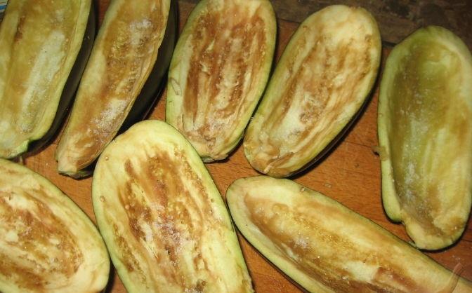 Рецепт Овощные лодочки из баклажанов