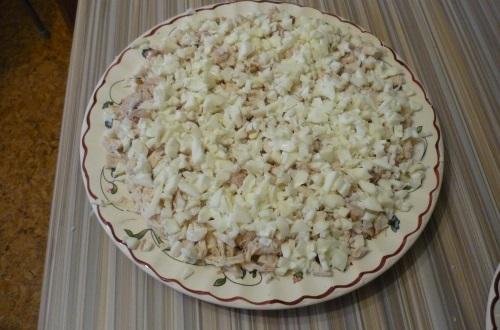 салат ананас пошаговый рецепт с фото с грибами