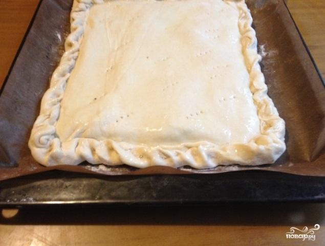 Луковый пирог от Юлии Высоцкой - фото шаг 4