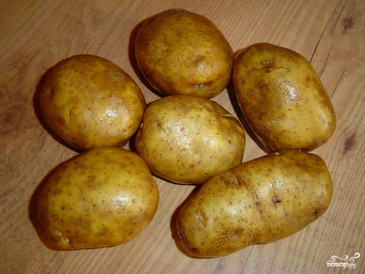 Рецепт Запеченный картофель в соусе