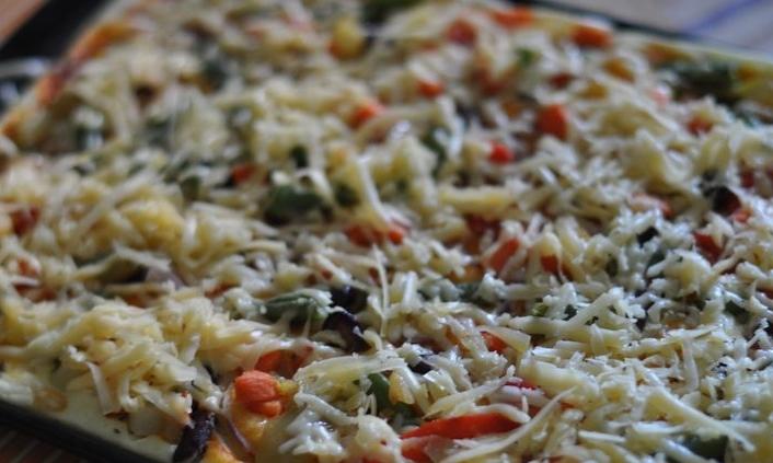 """Пицца """"Минутка"""" в духовке - фото шаг 5"""