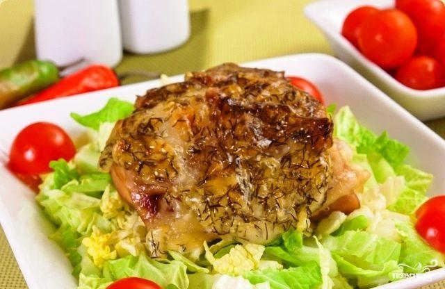 Рецепт Куриные бедрышки с сыром
