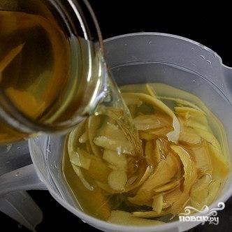 Домашний лимончелло - фото шаг 6