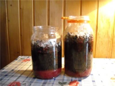 Желе из черной смородины 5-минутка - фото шаг 3
