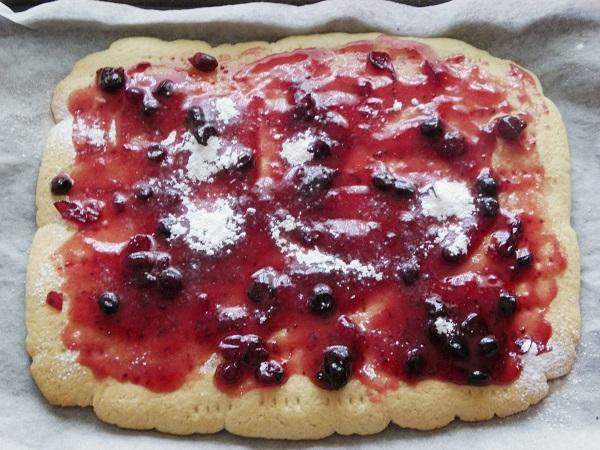 Пирог с вареньем рецепты простой рецепт с пошагово