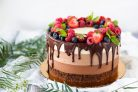 Торт 3 шоколада