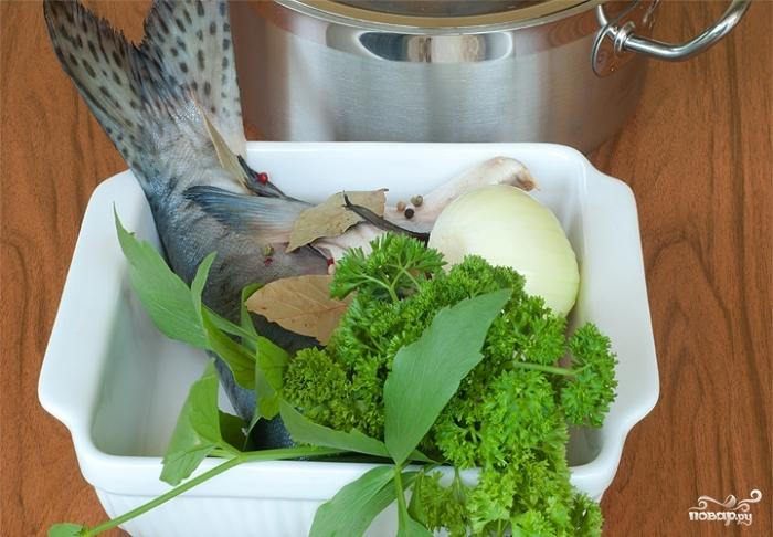 рецепт приготовления уха из горбуши