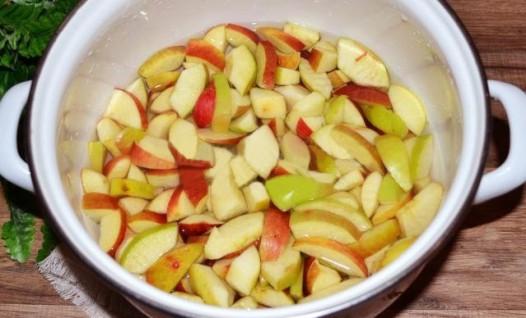 Конфитюр из яблок - фото шаг 2