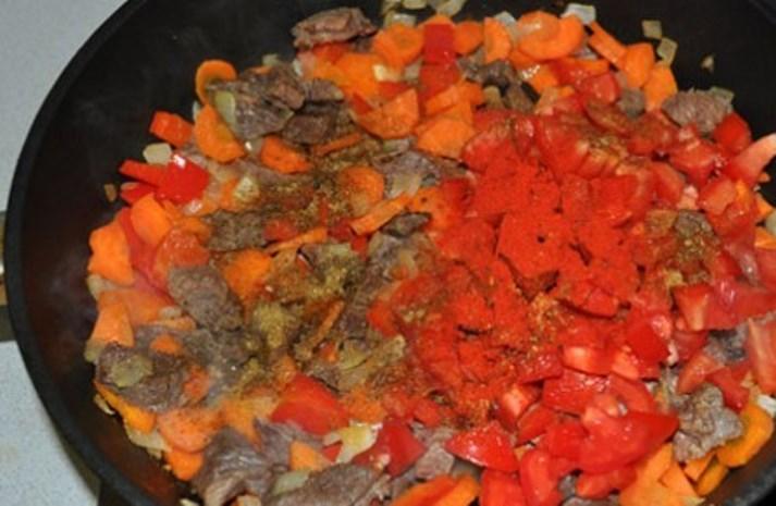 Рагу из баранины с овощами   - фото шаг 3