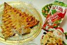 Слоеный новогодний пирог Елочка