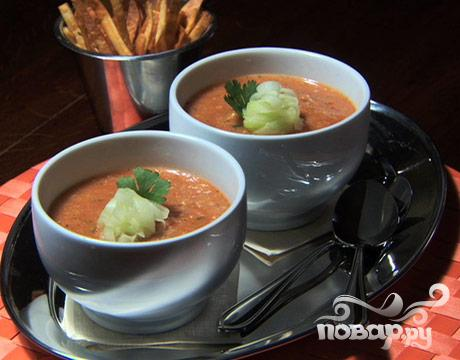 Рецепт Холодный суп Гаспачо
