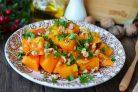 Салат из помидоров и грецких орехов