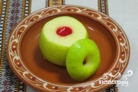 Печеные яблоки в духовке - фото шаг 3