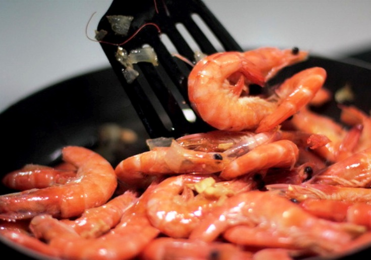 Креветки в соево-чесночном соусе - фото шаг 4