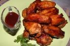 Крылышки куриные жареные