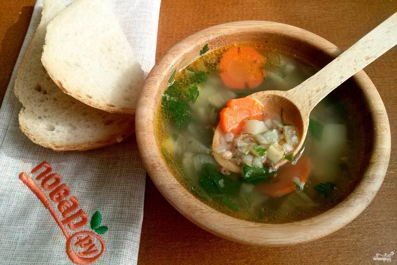 Гречневый суп классический