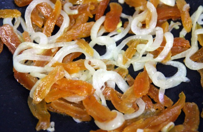 Салат из дикого риса - фото шаг 2