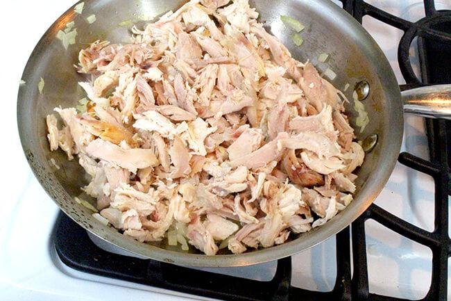 Курица с сыром и сметаной - фото шаг 2