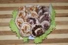 Куриный рулет с желатином в пищевой пленке