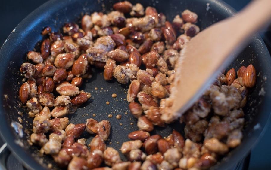 Орехи в карамели рецепт пошагово