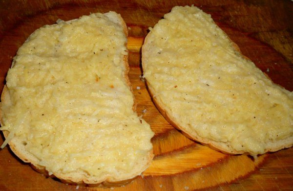 Бутерброды с картошкой - фото шаг 4