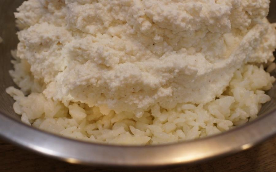 Творожная запеканка с рисом - фото шаг 2
