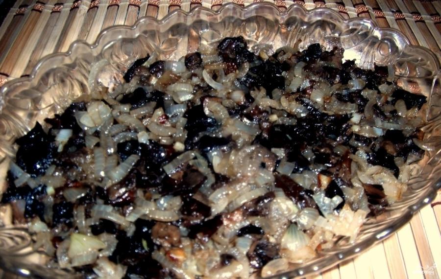 Березка с черносливом пошаговый рецепт