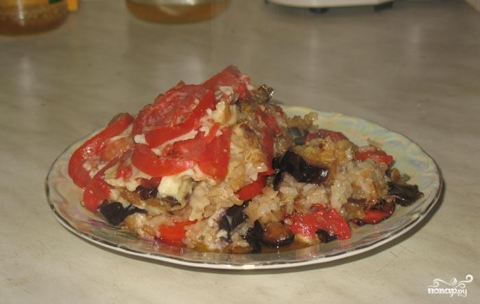 Рецепт Мусака с рисом