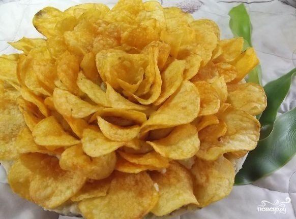 """Салат """"Чайная роза"""""""
