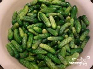 Рецепт Огурцы консервированные сладкие