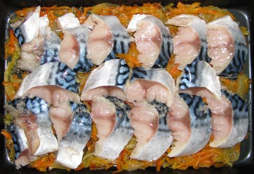 Рыба с цветной капустой - фото шаг 5
