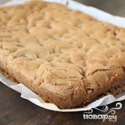 Печенье с шоколадом и соломкой - фото шаг 8