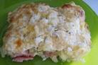 Запеканка под сметанным соусом