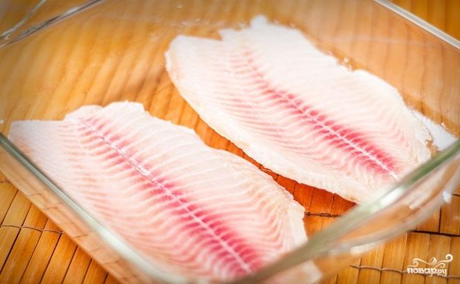 Рецепт Филе тилапии в духовке