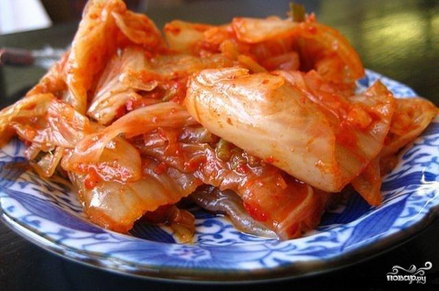 Капуста соленая по-корейски