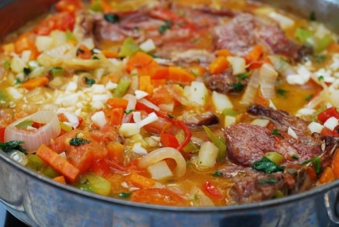 Жаркое из баранины с овощами   - фото шаг 10