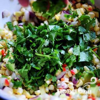 Сальса из свежей кукурузы и авокадо - фото шаг 10
