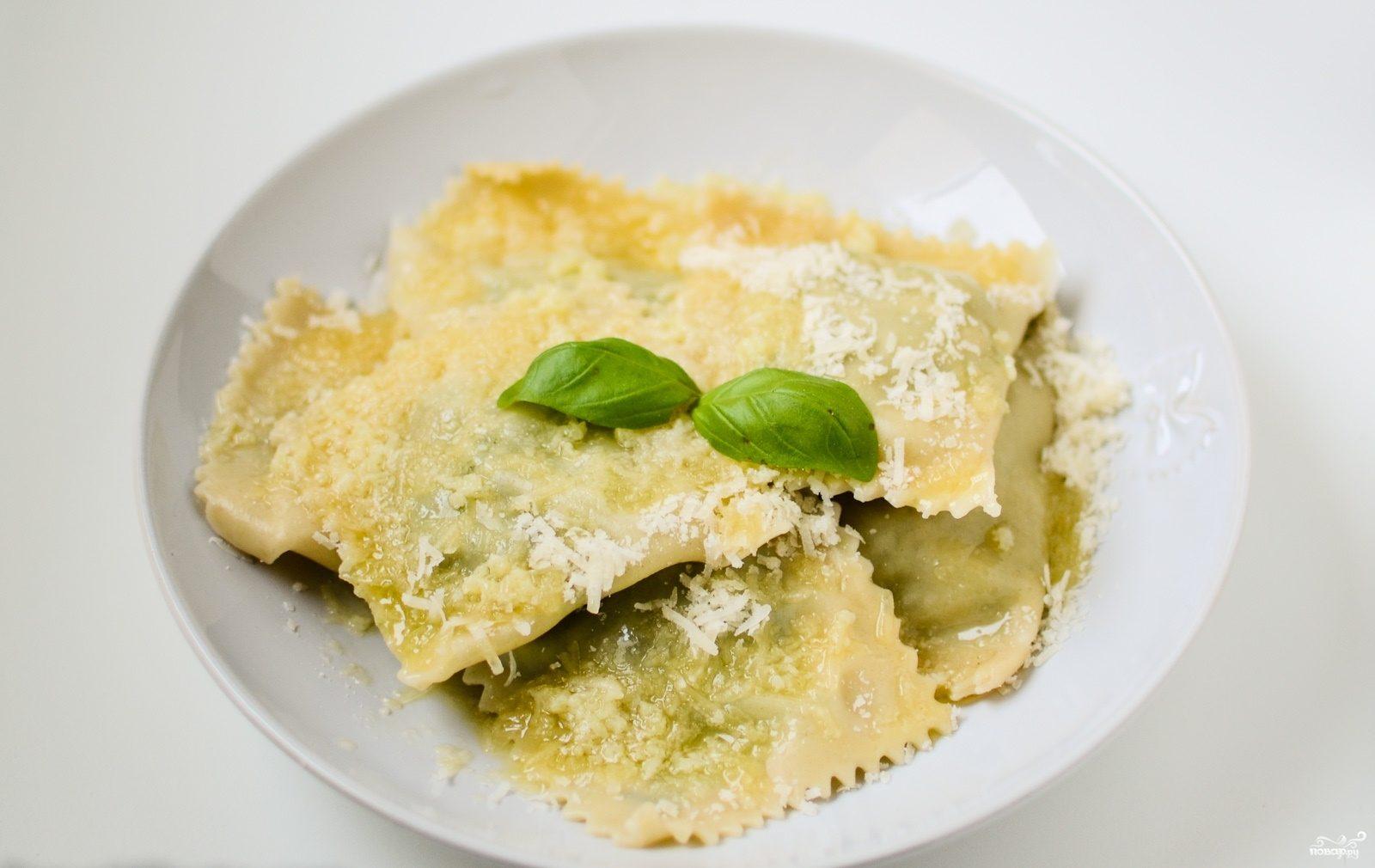 Равиоли с рикоттой - пошаговый рецепт с фото на Повар.ру