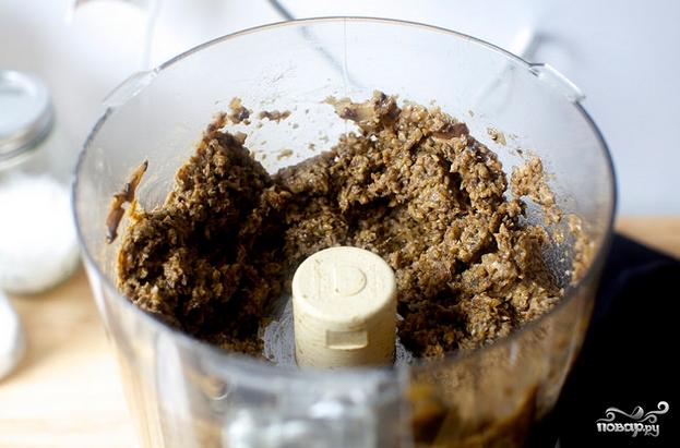 Постная грибная икра - фото шаг 6