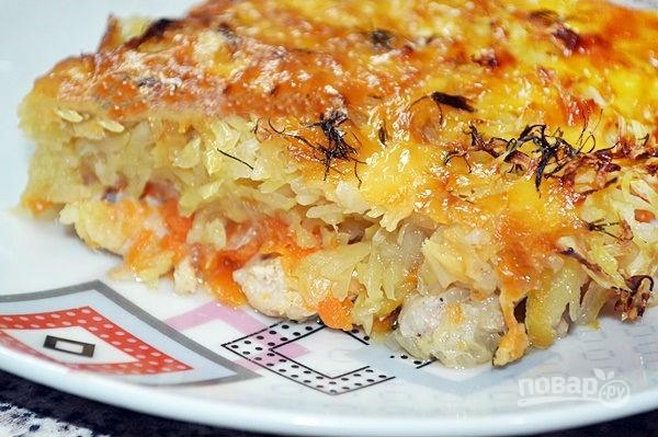 Картошка и кабачок рецепт с фото пошагово в
