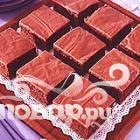 Шоколадный листовой торт с цуккини