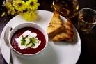 Крем-суп из свеклы