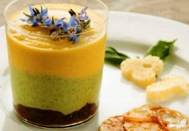 Рецепт Мусс из кабачков