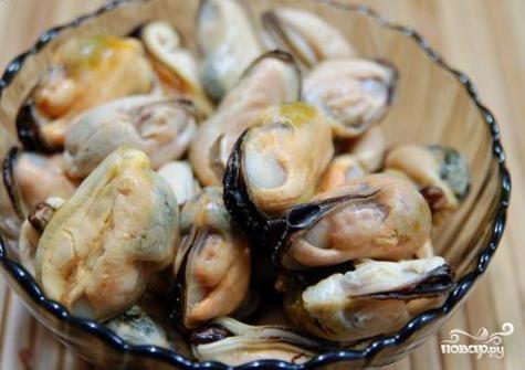 Томатный суп с мидиями - фото шаг 10