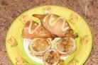 Кальмары с рисом и овощами